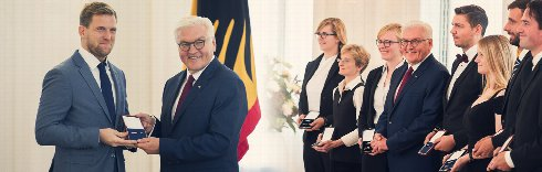 TWG champions awarded by German President