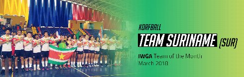 IWGA Team of the Month