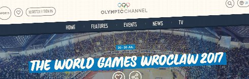 Olympic Channel celebrates the spirit of Wroclaw