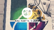 Key events in 2019 for the sports of TWG