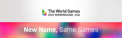 New Name, Same Games: The World Games 2022 Birmingham