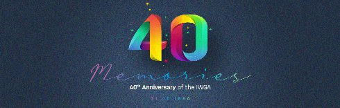 The IWGA is 40 today!