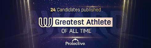 Candidates published for Greatest of All Time